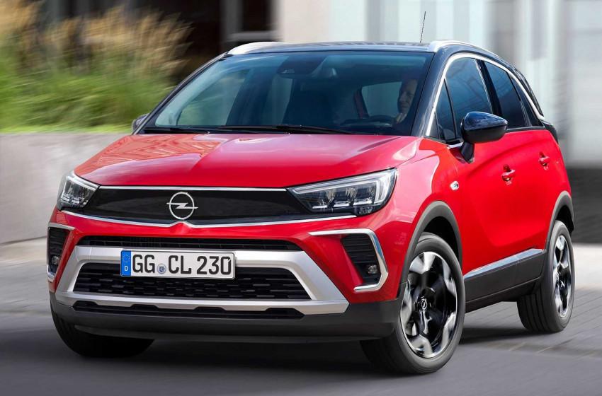 Yeni Opel Crossland Türkiye'de İlk Sırada