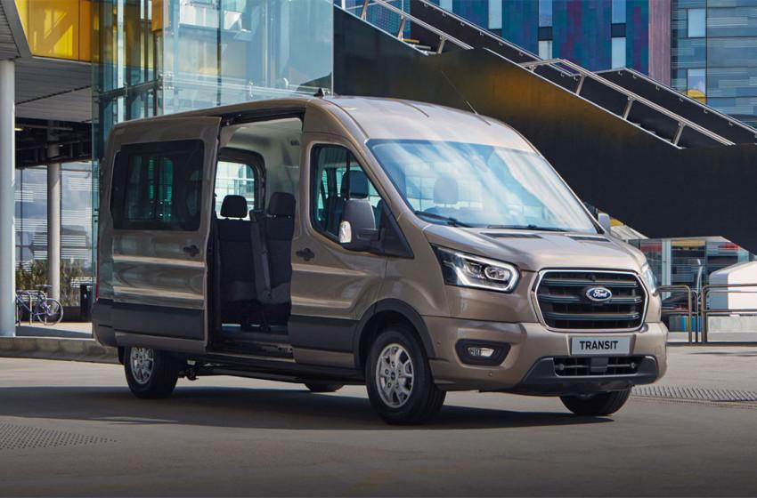 Ford Transit Hızlı Bir Şekilde Yol Alıyor