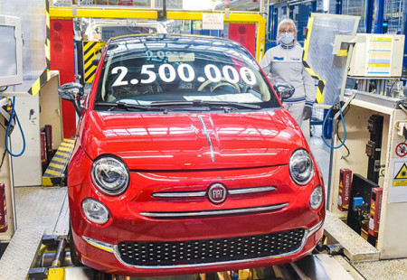 Fiat 500 Yeni Bir Rekora İmza Attı
