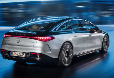 Mercedes-Benz EQS Trafikte Görüntülendi