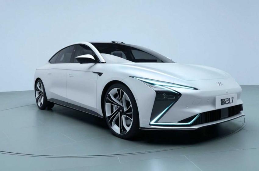 Çin'in Yeni Elektrikli Sedan Modeli: Zhiji L7