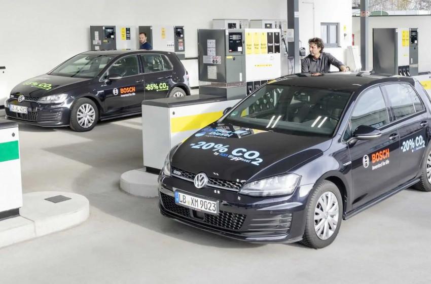 Bosch, Shell ve Volkswagen Tarafından Yenilenebilir Yakıt Geliştirildi