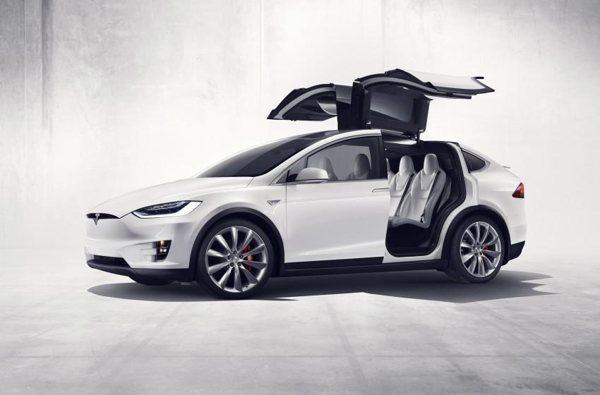Makyajlı Tesla Model X Görüntülendi