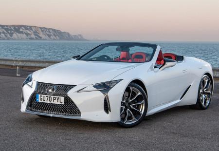 Lexus LC Convertible Modeli Test Edildi