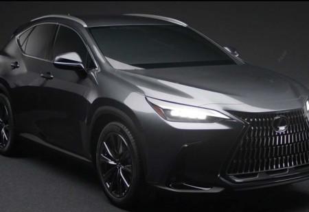 2021 Lexus NX'ten İlk Görseller Geldi