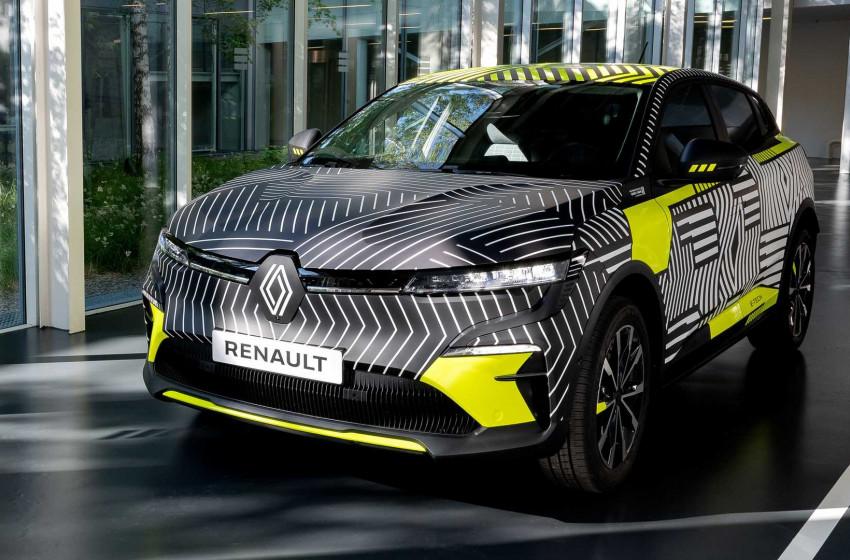 Yeni Renault Megane Electric 2022'de Yollarda Olacak
