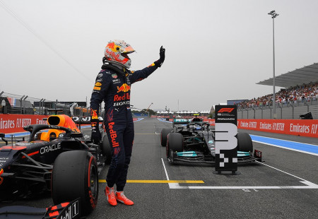 Formula 1 Fransa GP'sinde Kazanan Verstappen