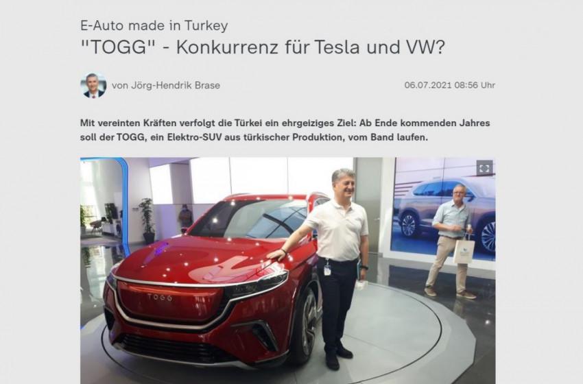 Yerli Otomobil TOGG, Almanya'nın Gündeminde