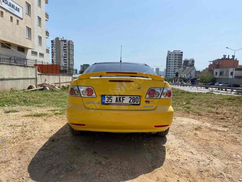 Mazda6 sport otamatik vitess sarı kanarya