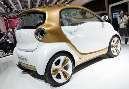 Smart Büyük Elektrikli SUV Konsepti İle Geliyor