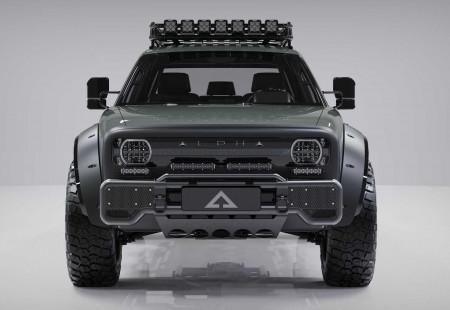 Alpha Motor, Superwolf İsimli Elektrikli Pick-up'ını Tanıttı