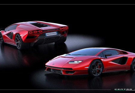 Lamborghini Countach 30'dan Fazla Renk Seçeneği İle Geliyor