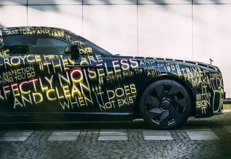 Rolls-Royce'un Tamamen Elektrikli İlk Modeli: Spectre Sizlerle